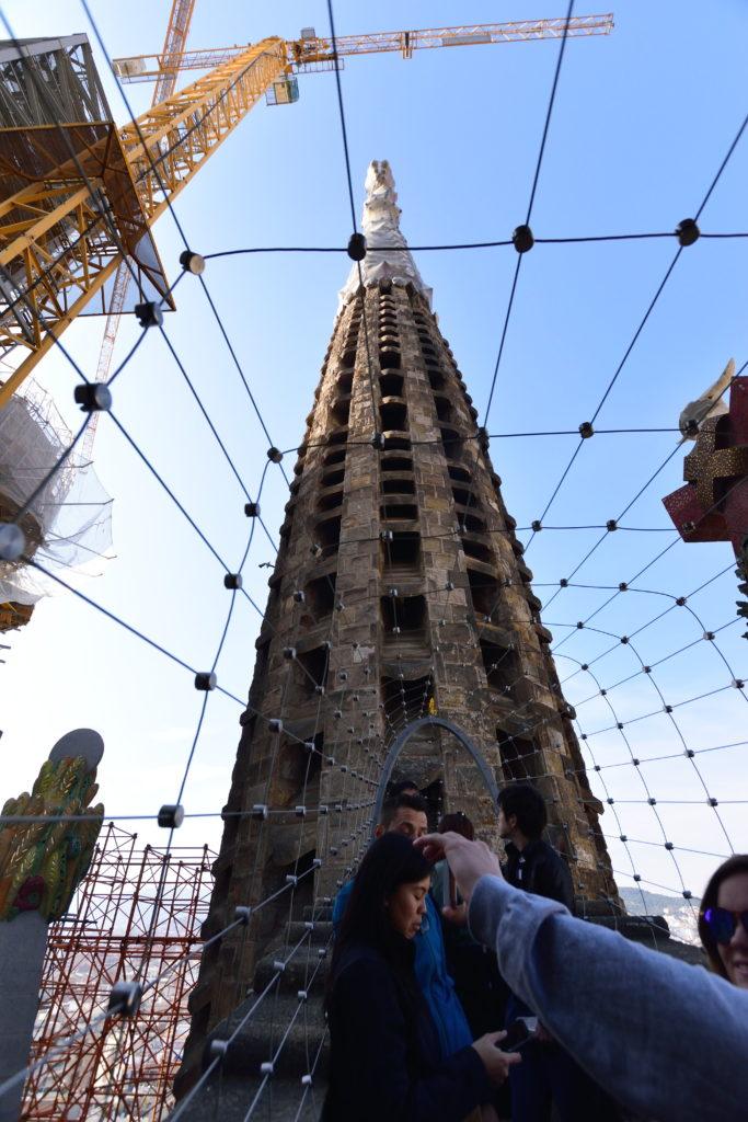 生誕の塔の橋