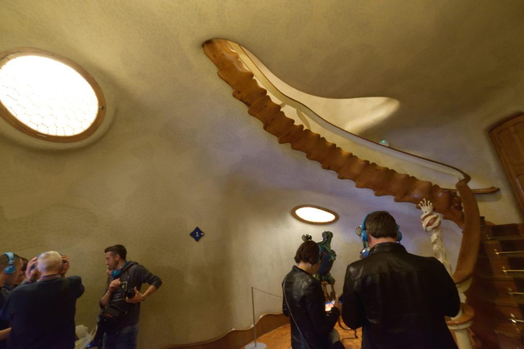 カサ・バトリョの階段