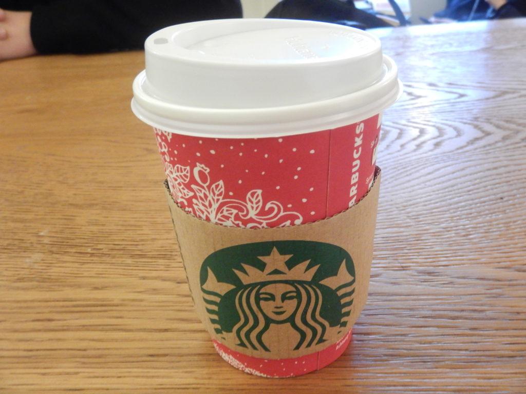 スタバのクリスマスカップ