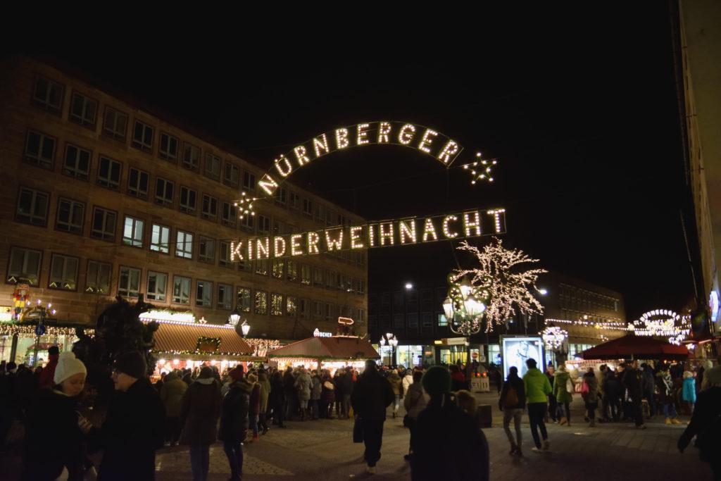 ニュルンベルク Kinderweihnachtの入口
