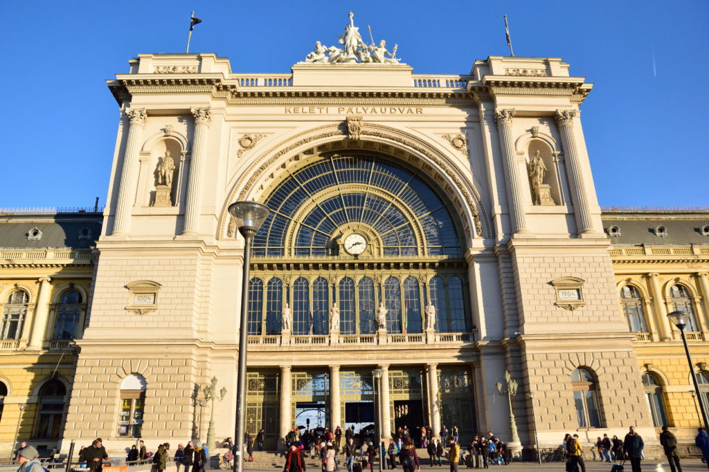 ブダペスト中央駅