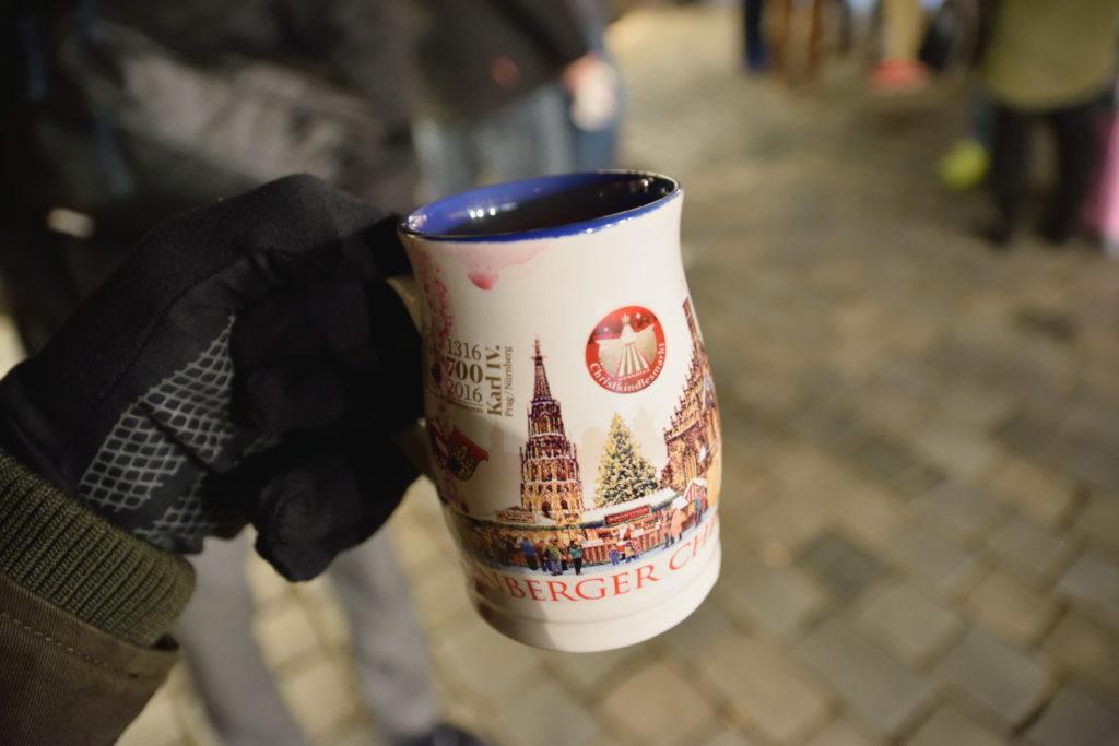 ニュルンベルク、グリューワインのカップ