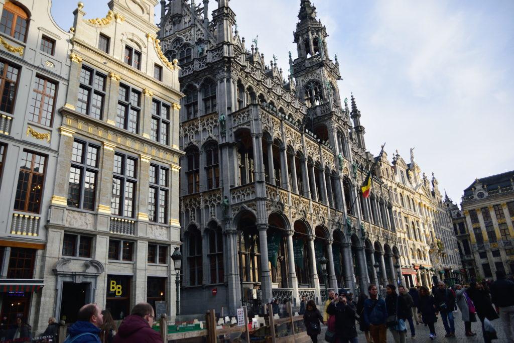 ブリュッセルの荘重な建物