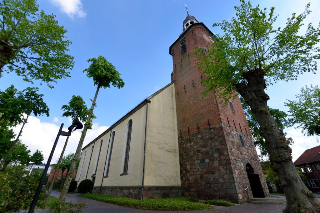 クロッペンブルクの教会