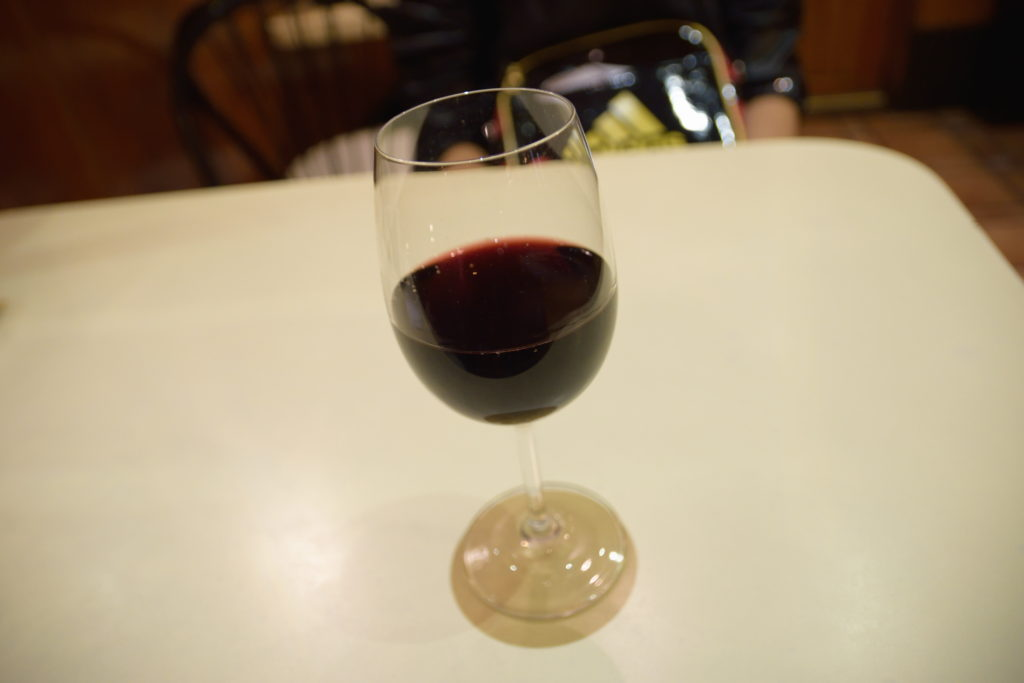 スペインバルで飲んだワイン