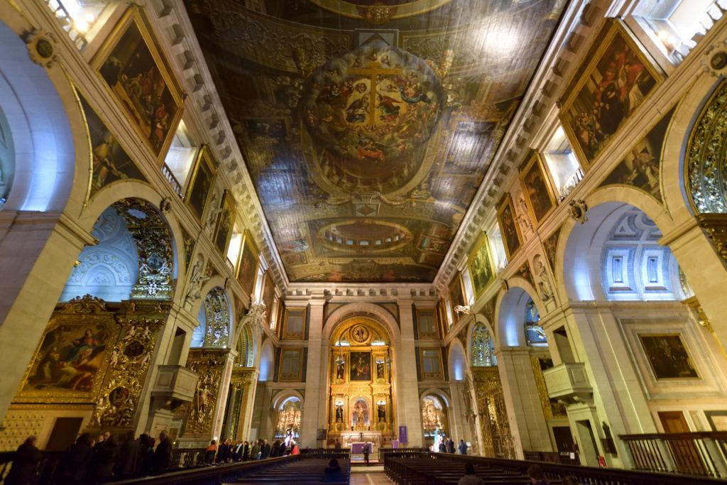 サン・ロッケ教会の内部