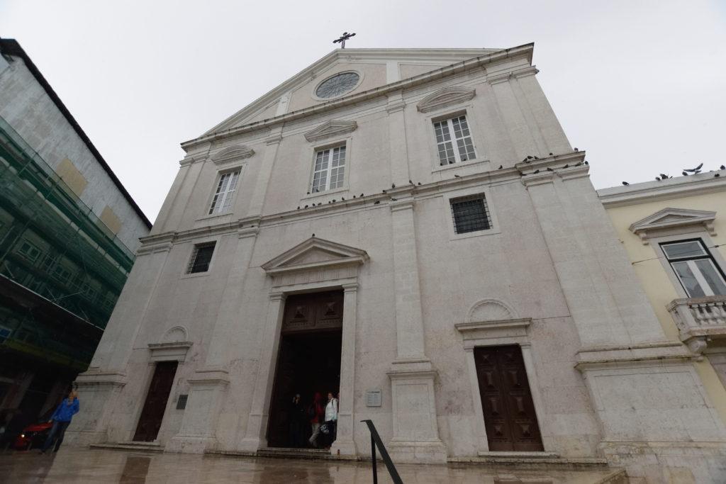 サン・ロッケ教会の外観