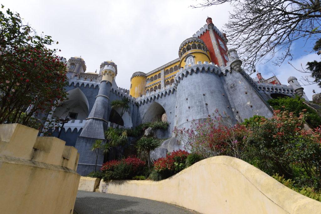 ペーナ宮殿のお城