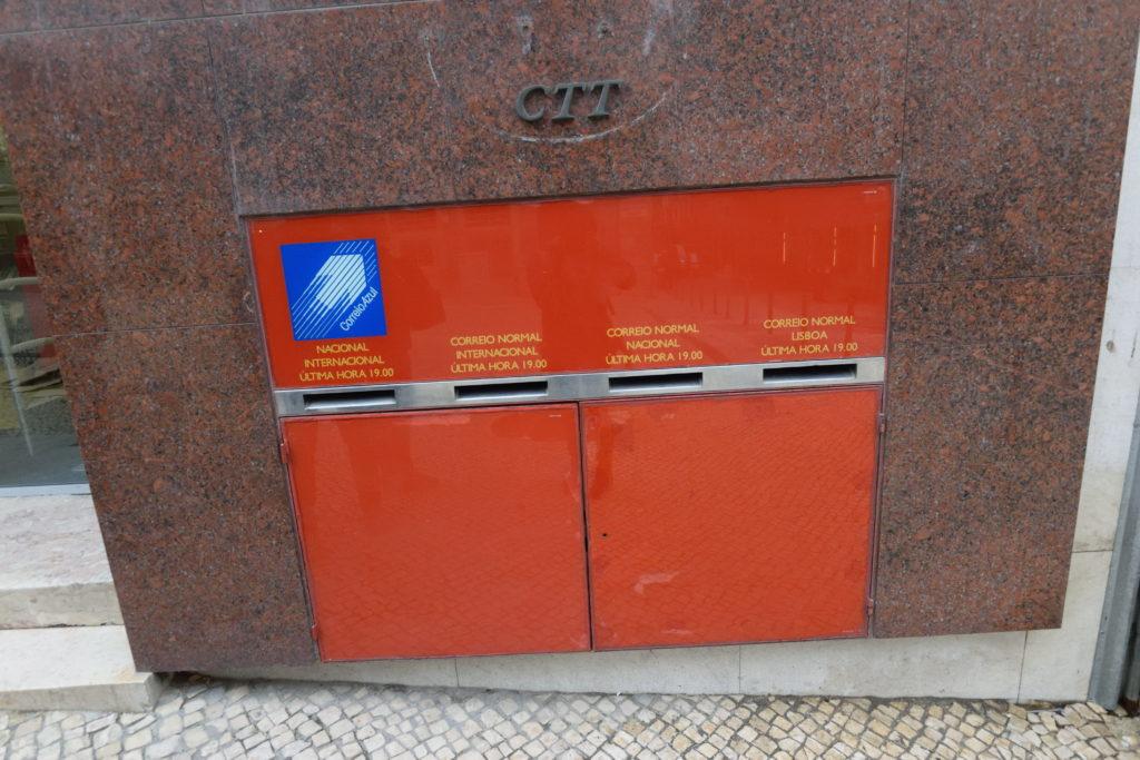ポルトガルのポスト