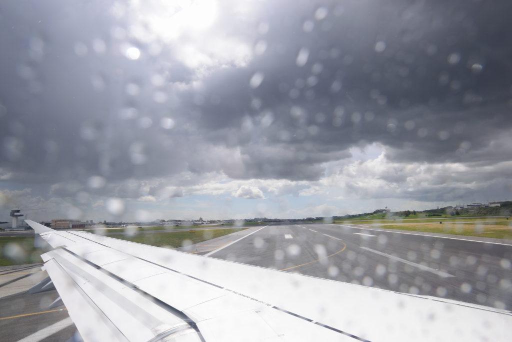 ポルテラ空港の滑走路