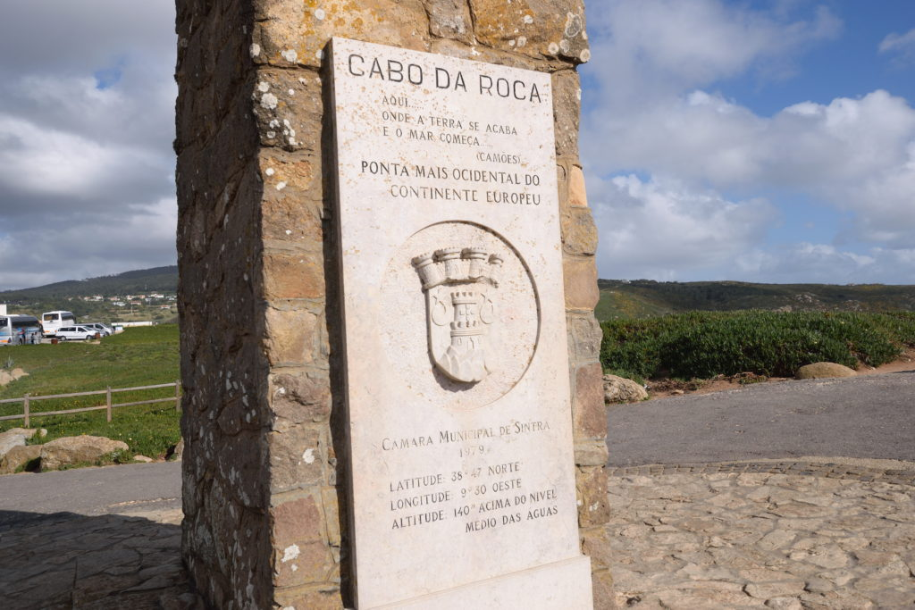 ロカ岬の記念碑