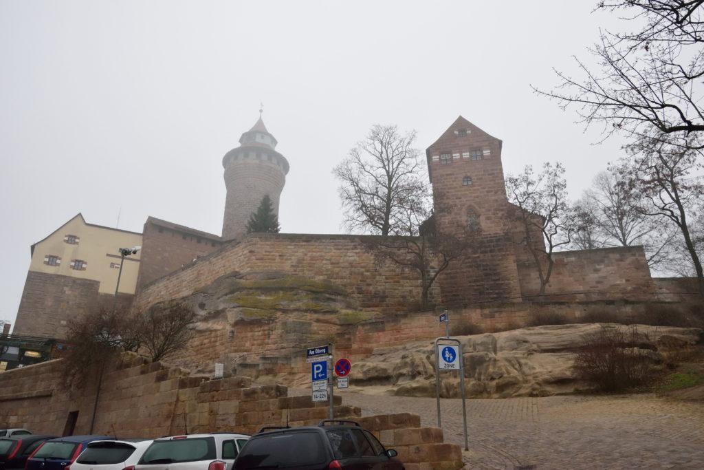 ニュルンベルクのお城の外観