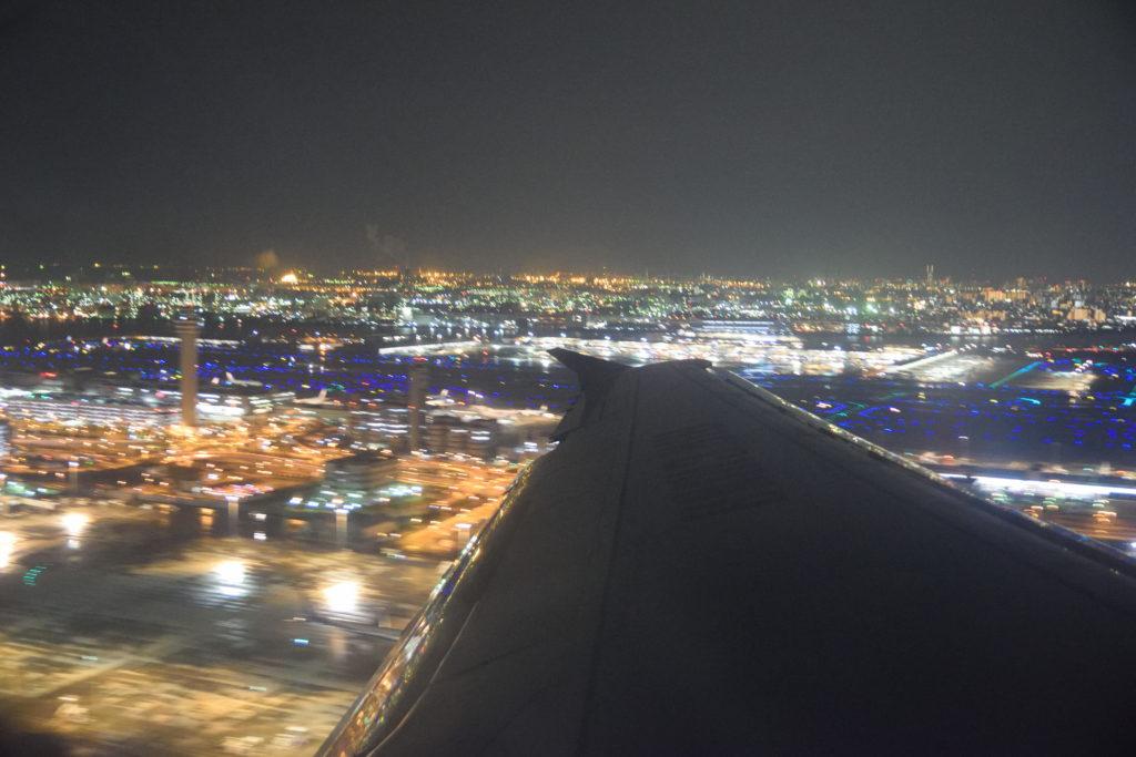 滑走路34Rからの離陸