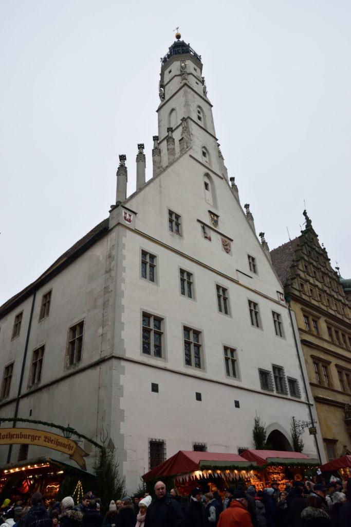 ローデンブルクの市庁舎