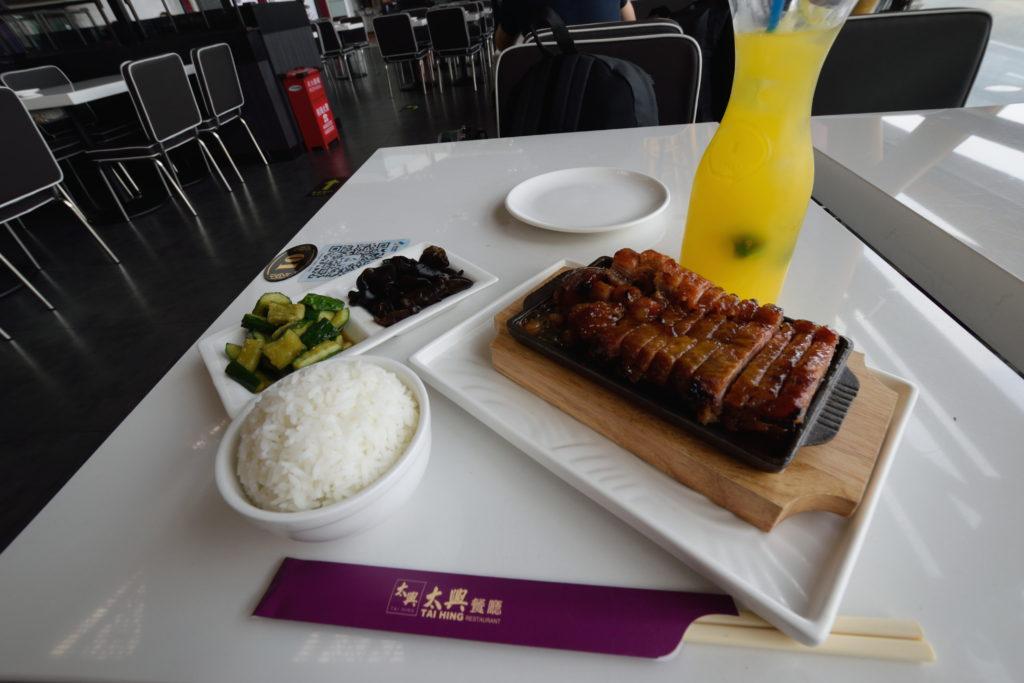 北京国際空港の中華料理店