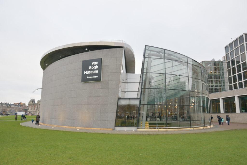ゴッホ美術館の外観