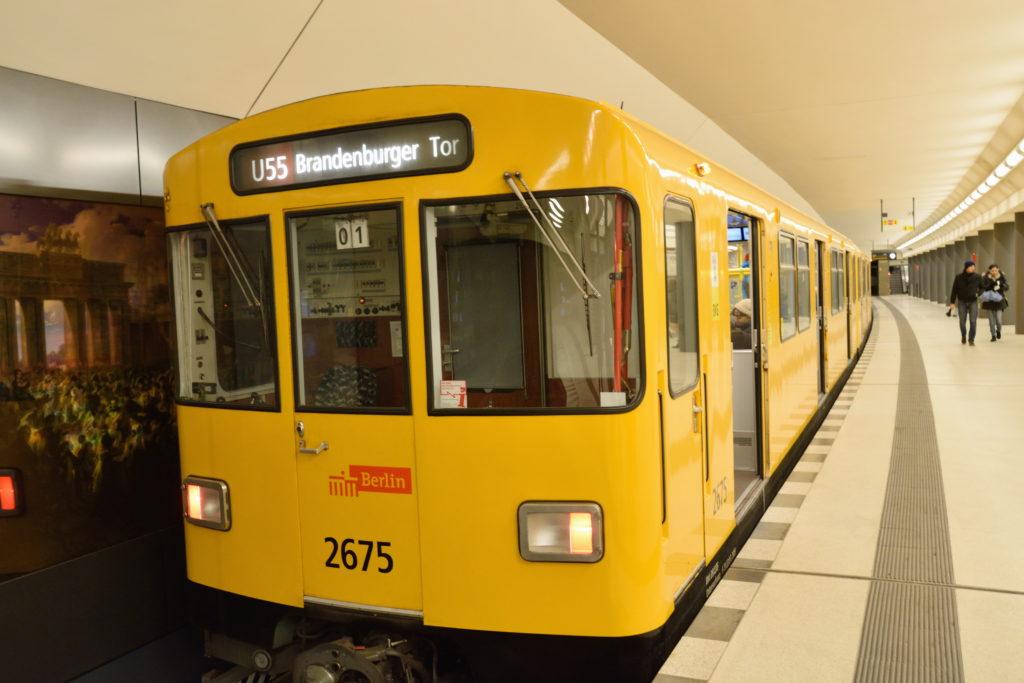 ベルリンの地下鉄