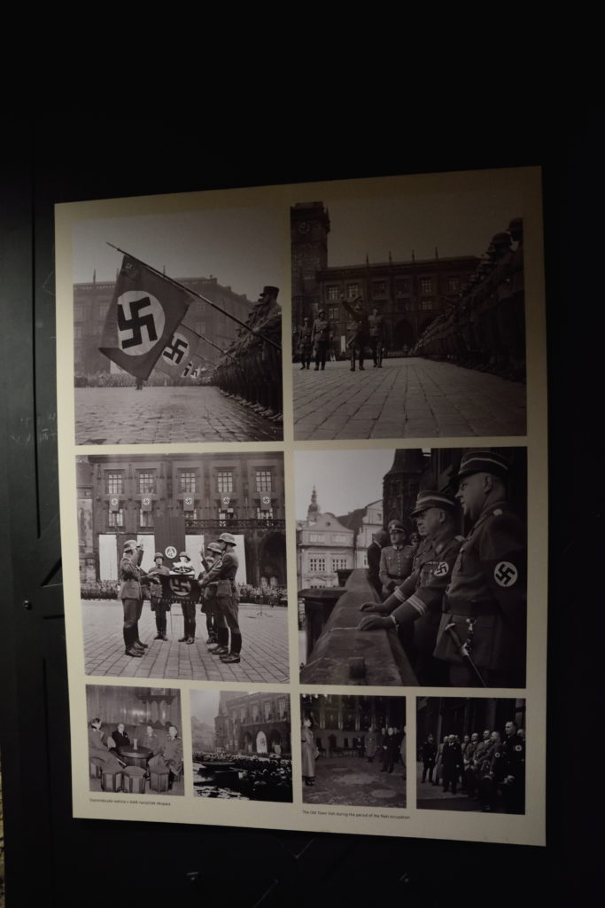 ナチ軍侵攻時の様子