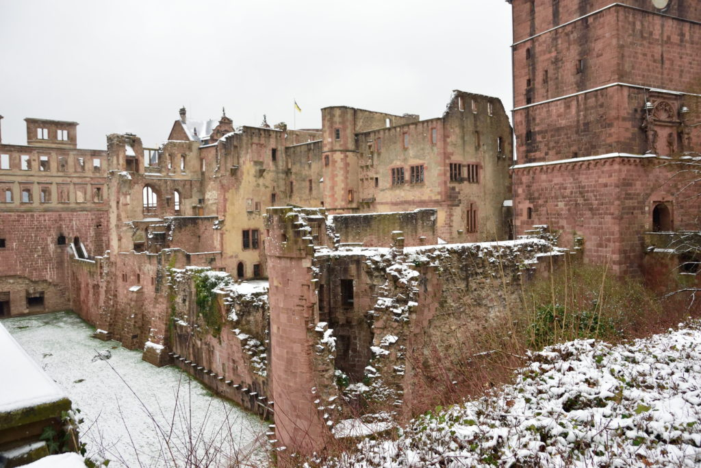 お城の外観