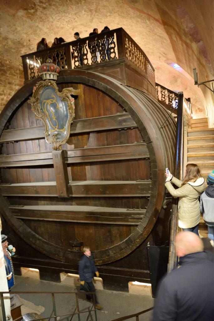 ワインの大樽