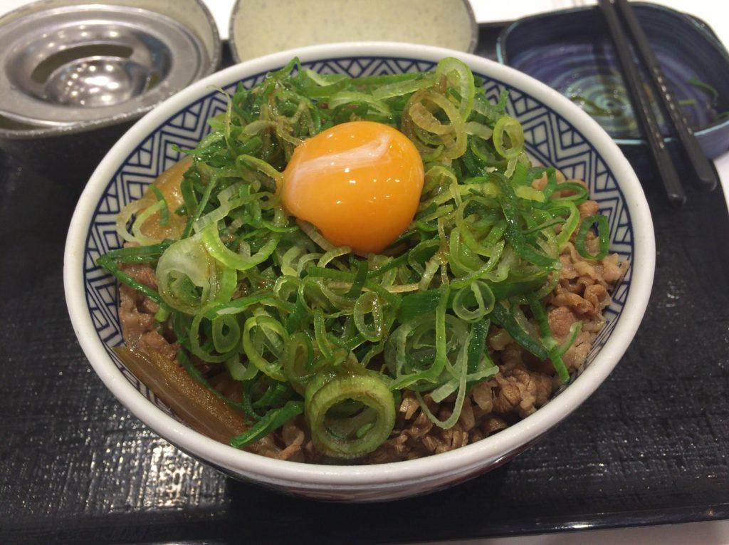 吉野家のネギ玉丼