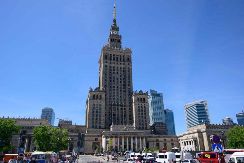 ワルシャワの文化科学宮殿