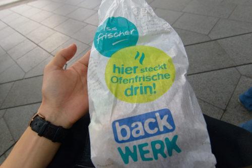 ドイツのサンドイッチ店