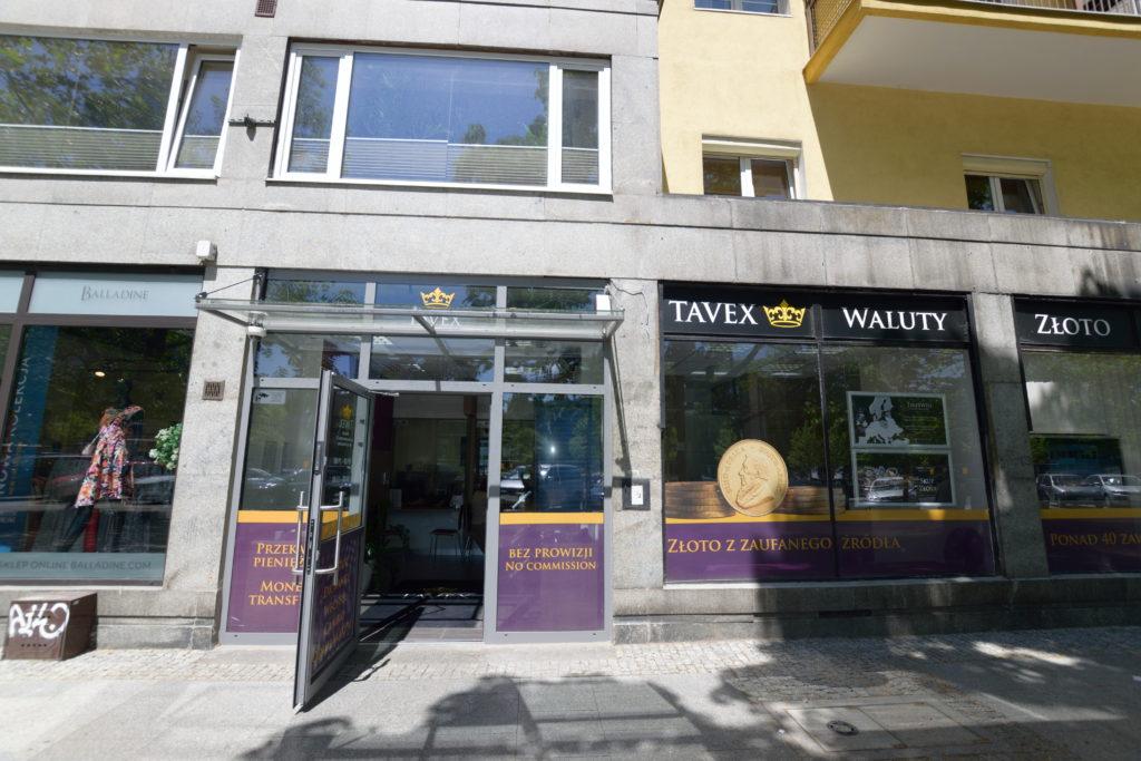 ワルシャワでオススメの通貨換金所