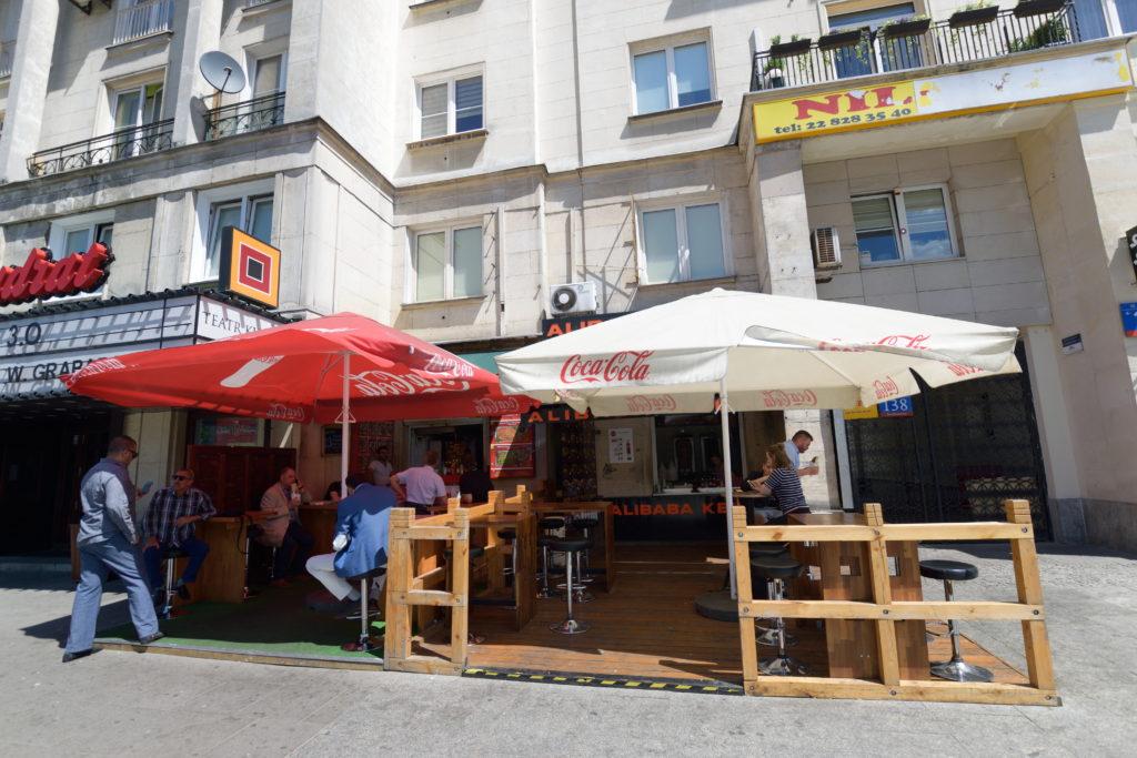ワルシャワのケバブ店
