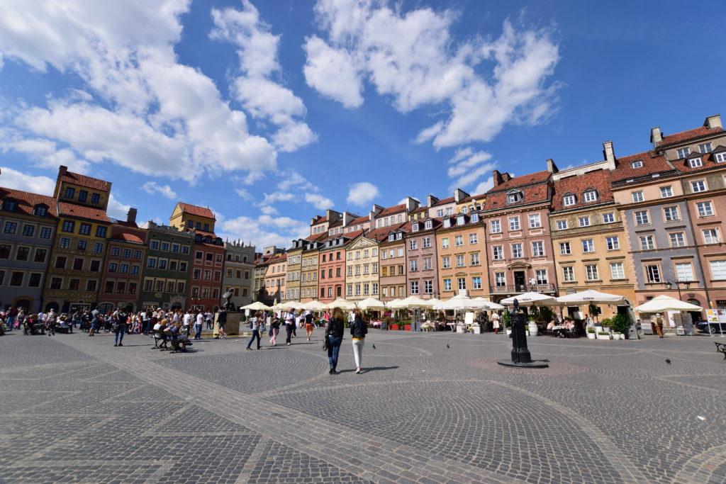 旧市街地の中央広場