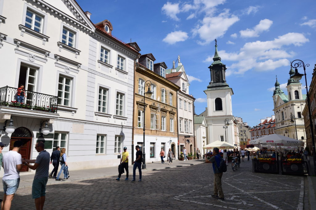 旧市街地の街並み