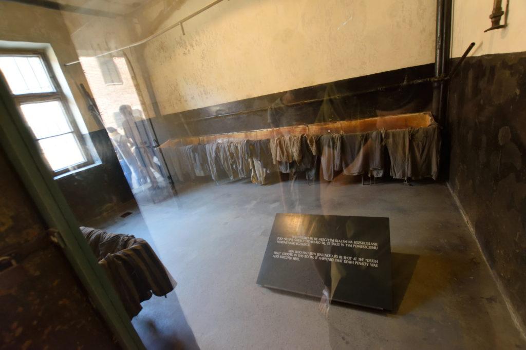 処刑者用の部屋