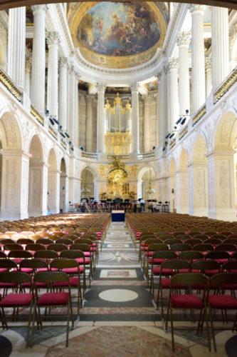 ヴェルサイユ宮殿内の教会