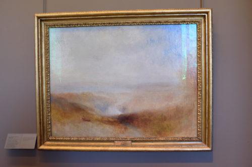 『Paysage avec une rivière et une baie au loin/川と湾の遠景』J. M. W. Turner/ウィリアム・ターナー