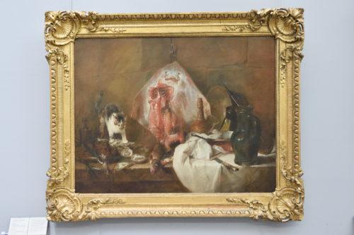 『La raie/赤エイ』Jean Siméon Chardin/シャルダン