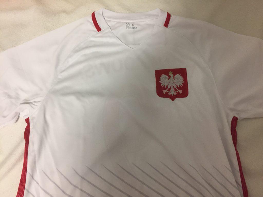 レヴァンドフスキのポーランド代表ユニフォーム表