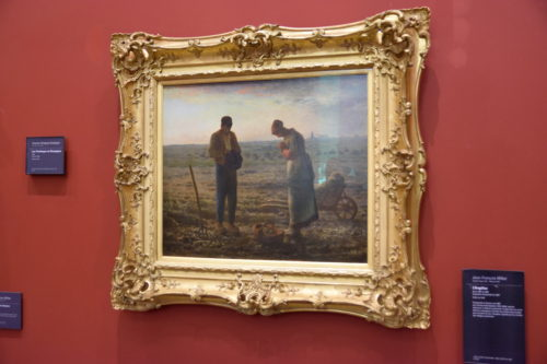 『L'Angelus/晩鐘』(1859) Jean-François Millet/ジャン=フランソワ・ミレー