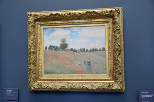 『Coquelicots à Argenteuil/アルジャントゥイユのひなげし』(1873) Claude Monet /クロード・モネ