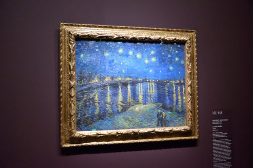 『Nuit étoilée sur le Rhône/ローヌ川の星月夜』(1888) Vincent van Gogh /フィンセント・ファン・ゴッホ