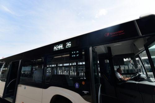 シャルル・ド・ゴール空港内の循環バス