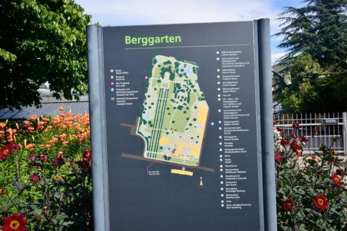 ベルクガルテンのマップ