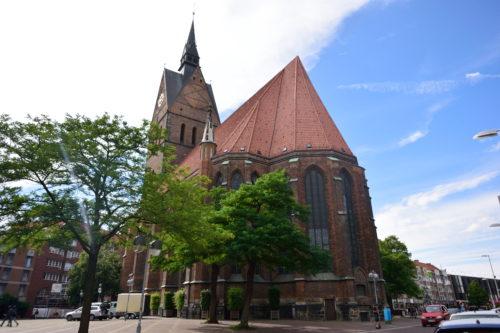 ハノーファー・マルクト教会の外観