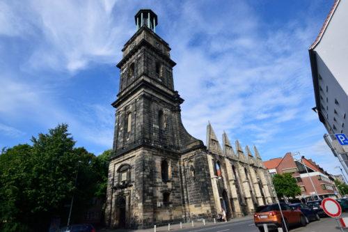 エギディエン教会の外観