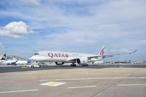 カタール航空のA350