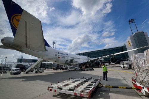 ルフトハンザ航空のB747