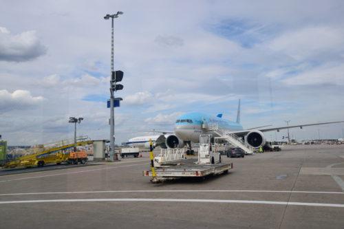 大韓航空貨物の機体