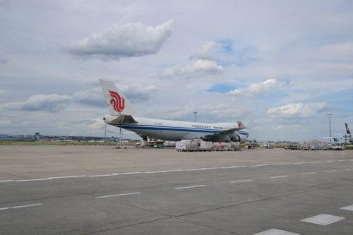 中華国際航空貨物の機体