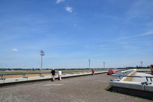 ベルリン・テーゲル空港の展望デッキ