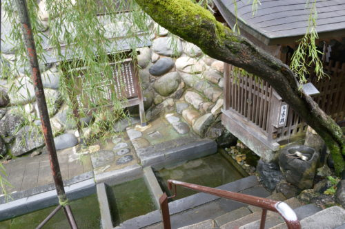 日本の名水百選 宗祇水
