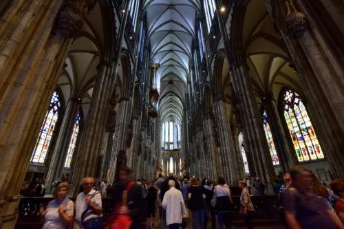 ケルン大聖堂の内装